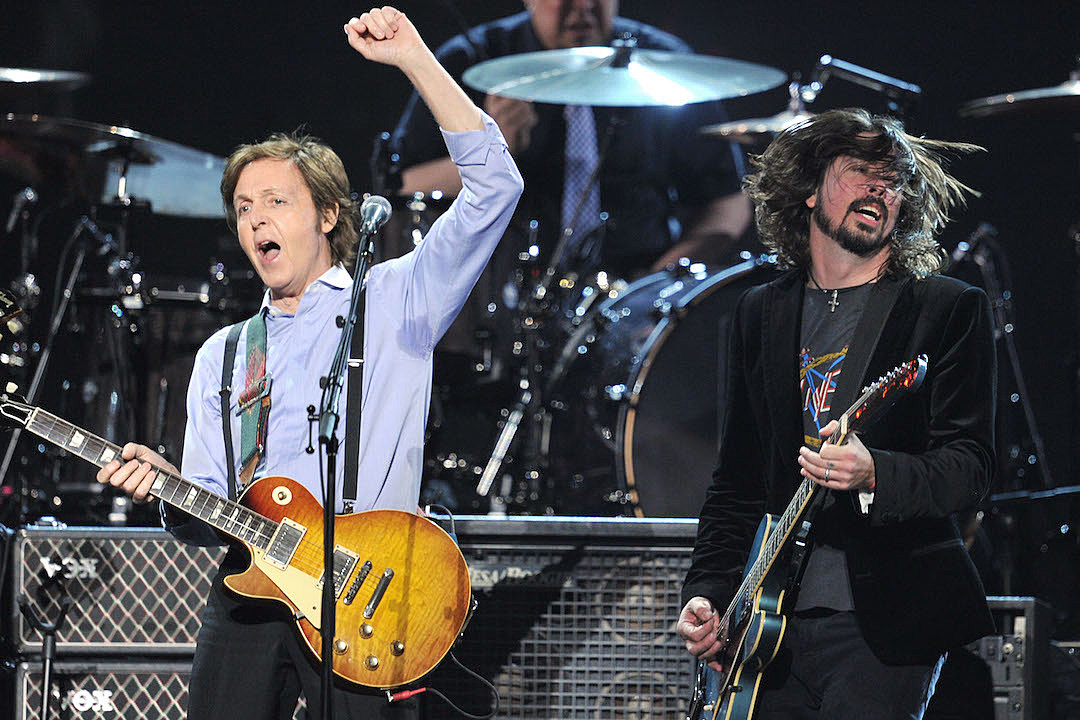 Paul McCartney Plays Drums on Upcoming Foo Fighters LP