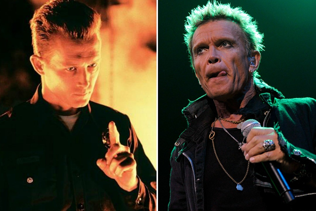 Billy Idol originally cast as 'Terminator 2' villain: Patrick