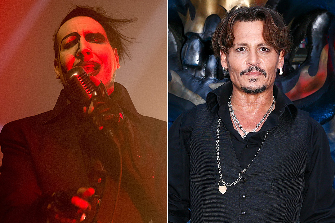 Marilyn Manson Wants to Be Johnny Depp's Running Mate