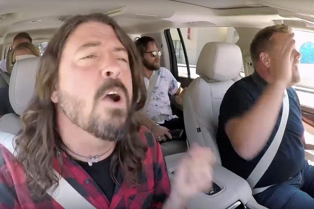 Watch the Foo Fighters' 'Carpool Karaoke' Segment