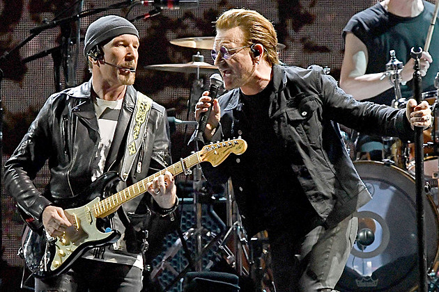 The Edge and Bono of U2