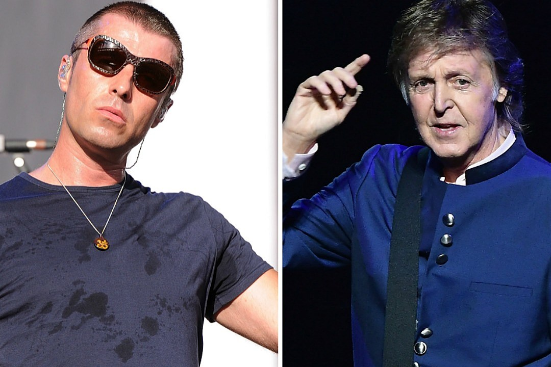 Liam Gallagers Awkward Encounter With Paul McCartney